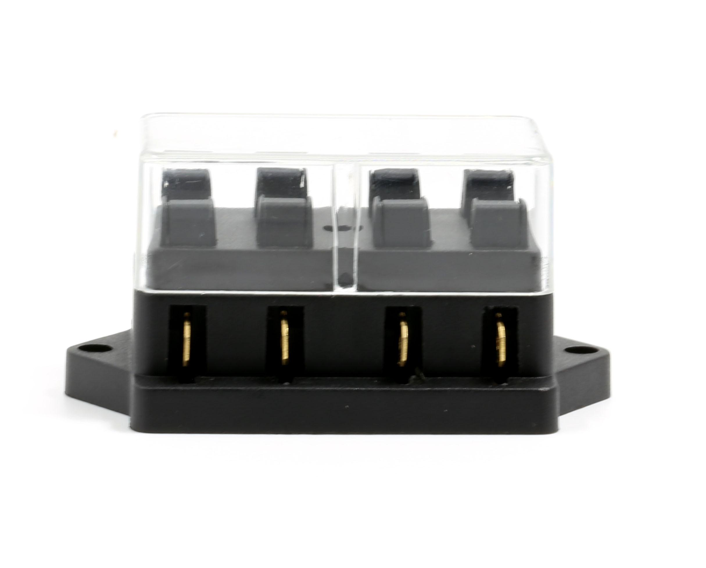 Fuseblock 4port Automotive Fuse Box Connectors Lumision 4 Port Way Ato Atc Apr Block Terminal